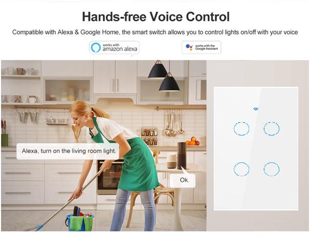 tuya voice control