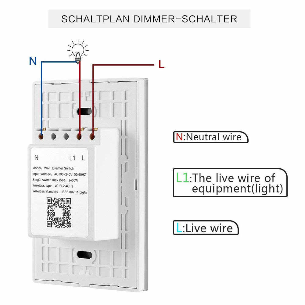 tuya dimmer wifi