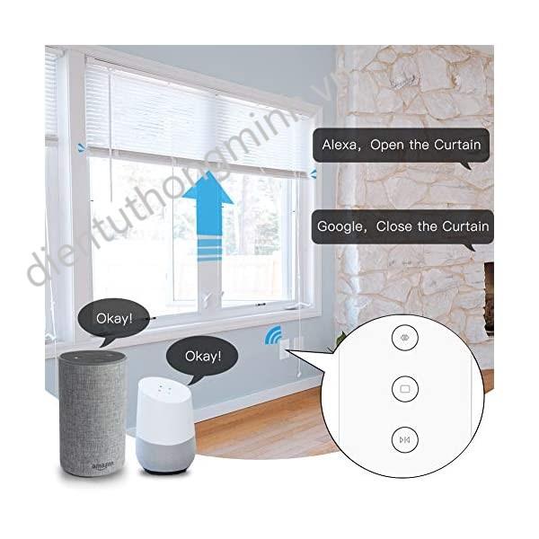 rolling door voice control