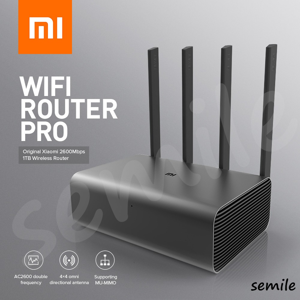 router wifi AC2600 pro